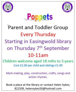Poppets Toddler Group