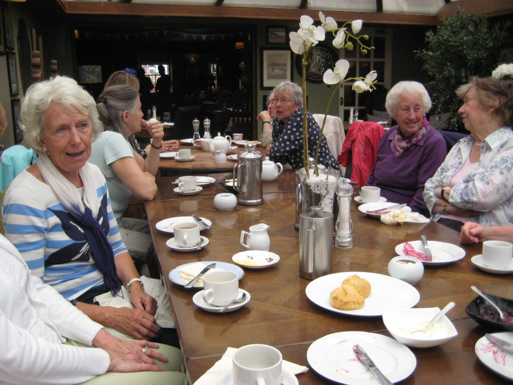 Coffee Morning at the Rose and Crown
