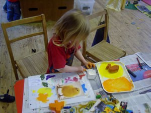 Craft Activity at Sutton on the Forest Preschool