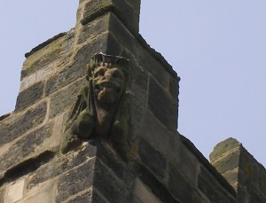 Gargoyle on All Hallows Church Sutton-on-the-Forest