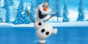 Olaf from the Disney film Frozen