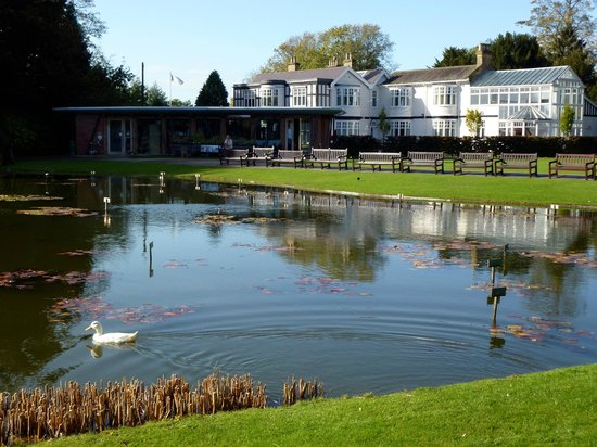 Day out to burnby hall gardens and museum sutton on the for Koi pond builders yorkshire