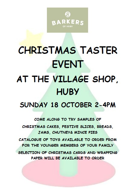 christmas_taster_event_poster
