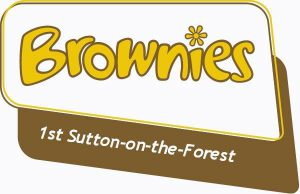 1st Sutton Brownies Logo