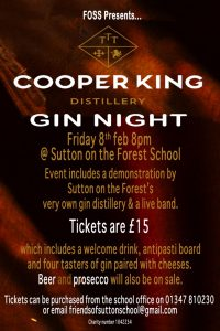 Gin and Prosecco Night poster