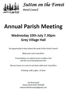 Annual Parish Meeting Notice